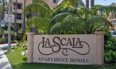 Community Signage, La Scala, 2