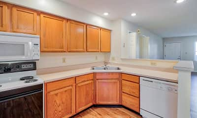 Kitchen, Walnut Springs Condominiums, 1