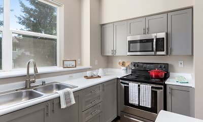 Kitchen, HighGrove Apartments, 1
