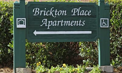 Community Signage, Brickton Place, 2