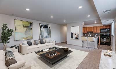 Living Room, Mannasota Manor, 0