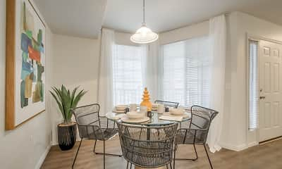 Dining Room, Monarch Meadows, 1