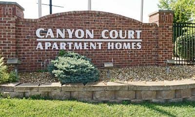 Community Signage, Canyon Court, 2