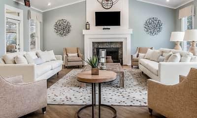 Living Room, Falls At Spring Creek Apartment Homes, 0