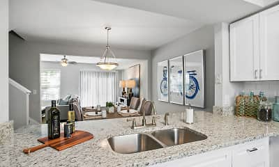 Kitchen, The Coast Townhomes of Naples, 0
