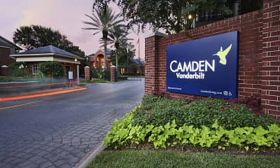 Community Signage, Camden Vanderbilt, 2