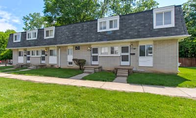 Building, Midway Square Townhomes - Affordable, 0