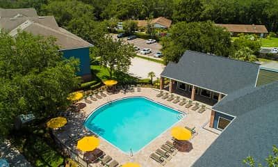Pool, Reflections Apartments - Per Bed Lease, 0