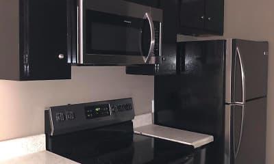 Kitchen, Evergreen Apartments, 1