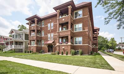 Building, Oak Park Residence Corporation Apartments, 1