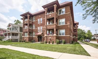 Building, Oak Park Residence Corporation Apartments, 1