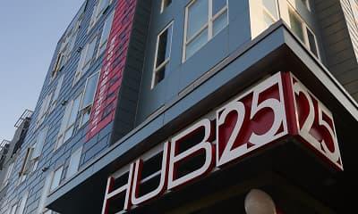 Community Signage, HUB 25, 2