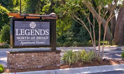Community Signage, Legends North of Broad, 2