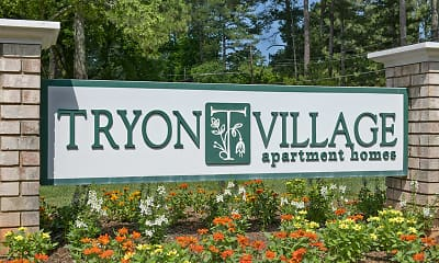 Community Signage, Tryon Village, 2