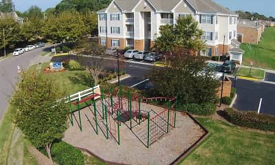 Playground, Park Towne Apartments, 2