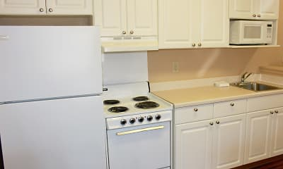 Kitchen, Furnished Studio - Jackson - East Beasley Road, 1