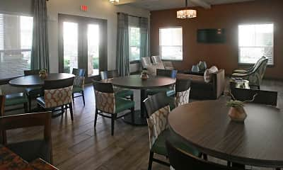 Clubhouse, Highland Villas Apartments, 1