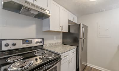 Kitchen, Pinewood Townhomes, 0