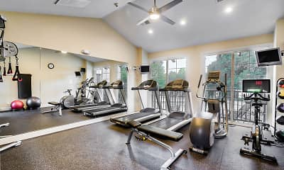 Fitness Weight Room, The Boulders at Fountaingrove, 2