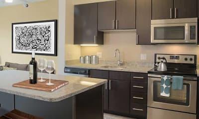Kitchen, Avalon Natick, 0