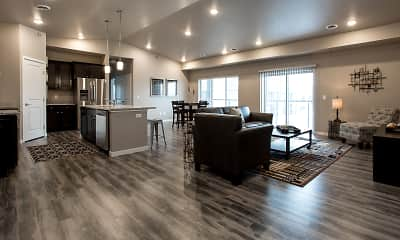 Living Room, Shadow Crest Townhomes, 0