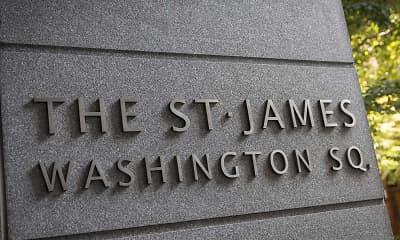 Community Signage, The St. James, 0