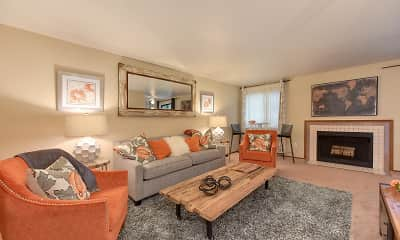 Living Room, Kently Pointe, 0