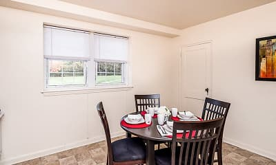 Dining Room, Cross Country Manor, 1
