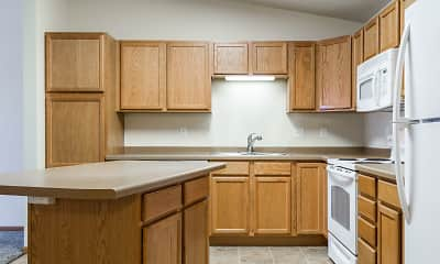 Kitchen, Calico Apartments, 1