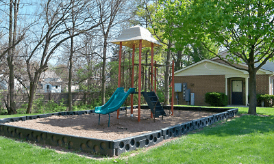 Playground, Crossgates Apartments, 1