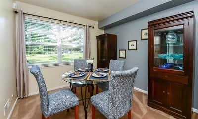 Dining Room, Sherwood Village Apartment Homes, 1