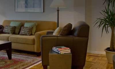 Living Room, eaves Glover Park, 2