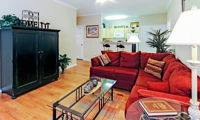 Living Room, The Landing on Bayou Cane, 1