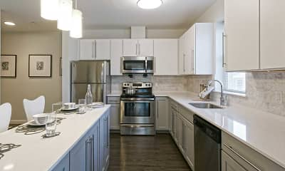 Kitchen, The Elm at Island Creek Village, 0