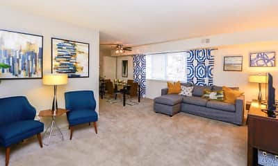 Living Room, Brookmont Apartment Homes, 1