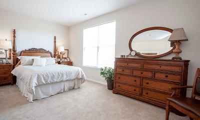 Bedroom, Residences at Wheaton Village, 2