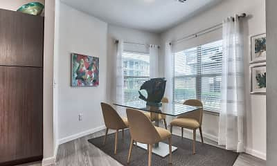 Dining Room, Legacy Flats Apartments, 1