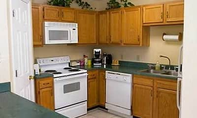 Kitchen, Carol Sue Apartments, 2