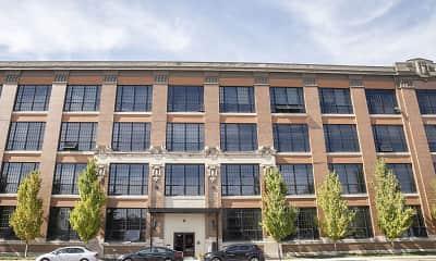 Building, 800 North Capitol Apartments, 1