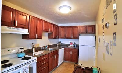 Kitchen, Midtown Towers, 1