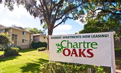 Community Signage, Chartre Oaks, 2