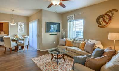 Living Room, The Villas on Bell, 0