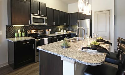 Kitchen, Fountain Pointe Las Colinas, 0