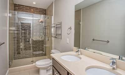 Bathroom, West Side Crossing, 2