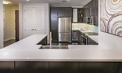 Kitchen, The Star Apartments, 0
