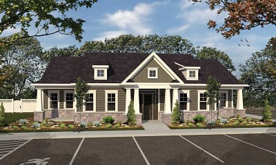 Clubhouse, The Townhomes at Stonebriar Glen, 1