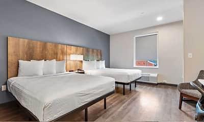 Bedroom, Furnished Studio - Port Charlotte - I-75, 2