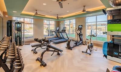 Fitness Weight Room, 9200 Exchange, 1