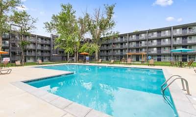 Pool, Mosaic Apartments, 1