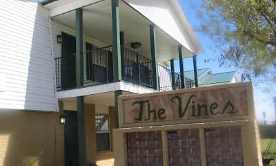 Community Signage, The Vines Apartments, 2